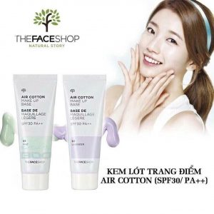 Kem lót the face shop - bici cosmetics