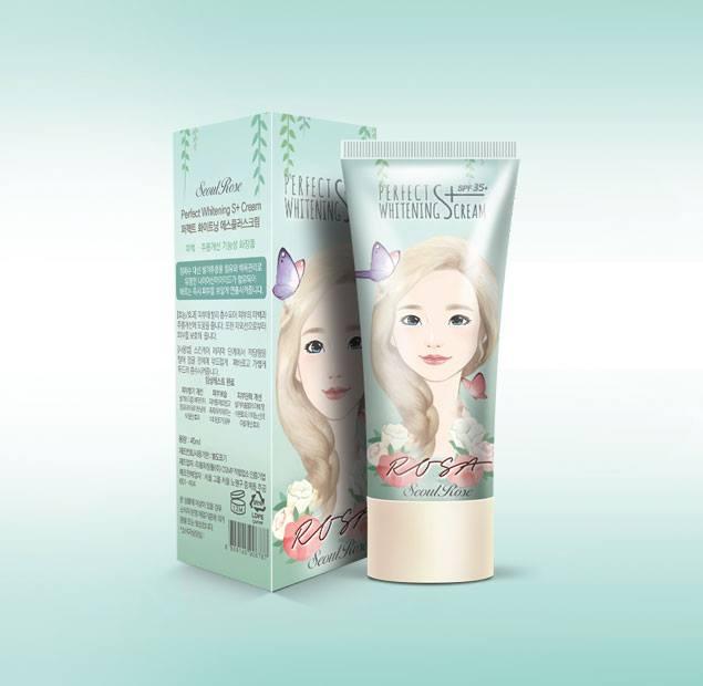 Hãy để ROSA – PERFECT WHITENING S+ CREAM chăm sóc làn da bạn!!! 1