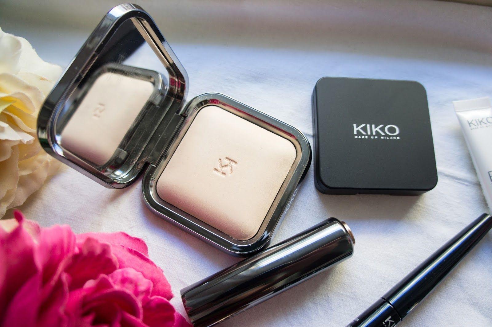 Phấn phủ nén Matte Fusion Kiko giúp lớp make up lâu trôi, kiềm dầu