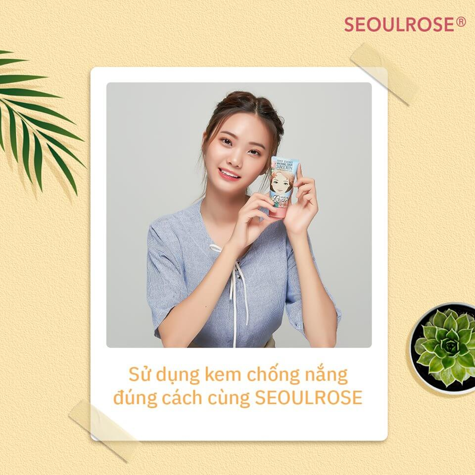 Kem Chống Nắng Seoul Rose Rosie- bicicosmetics.vn