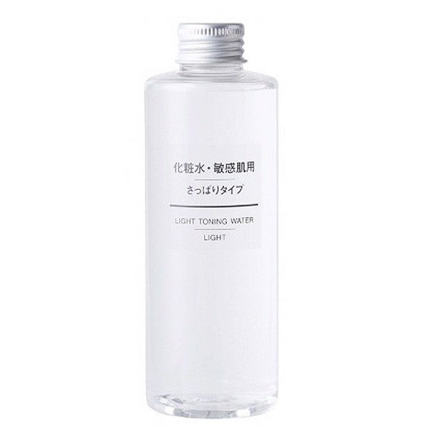 Muji Light Toning Water High Moisture Toner