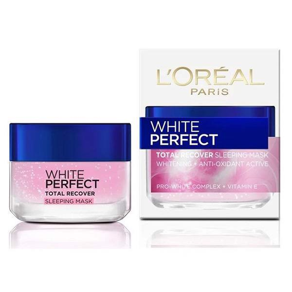 Mặt Nạ Ngủ L'oreal White Perfect Total Recover