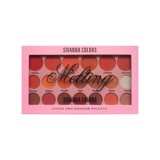 Bảng Phấn Mắt Và Má Sivanna Colors Melting Cheek And Shadow Pallette HF3012