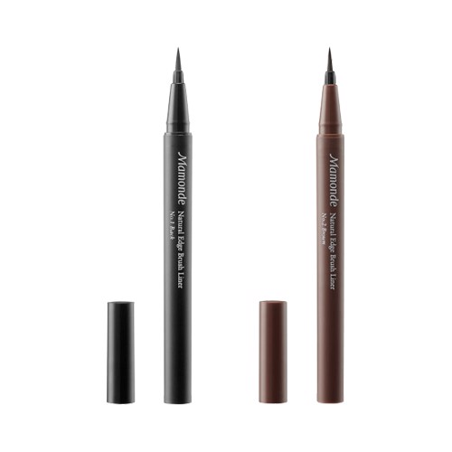 Kẻ Mắt Nước Mamonde Natural Edge Brush Liner – #01 Black