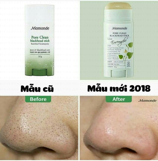 Mamonde Pore Clean Blackhead Stick-Bici Cosmetic