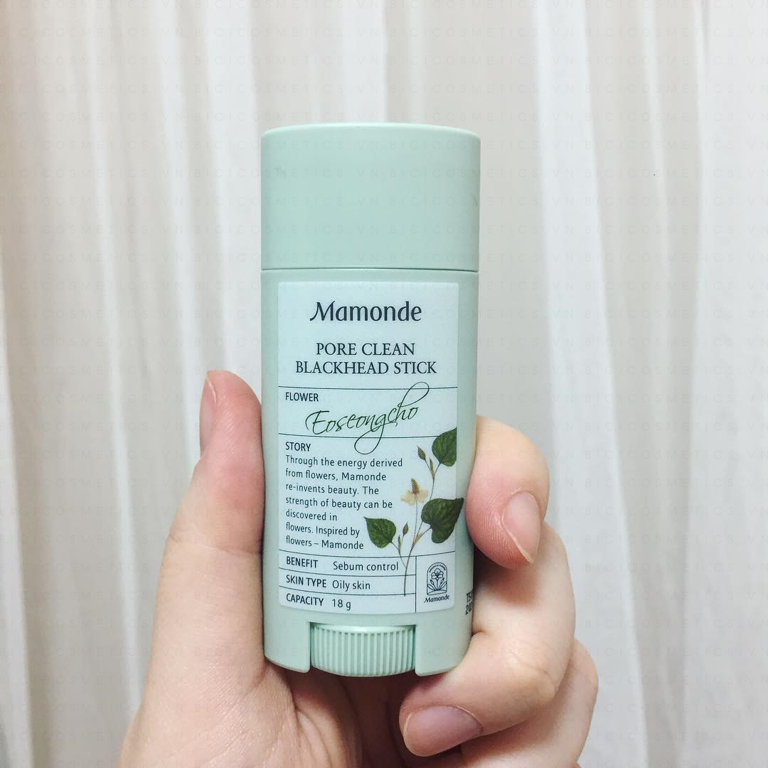sap tri mun Mamonde Pore Clean Blackhead Stick bán tại Bici Cosmetic