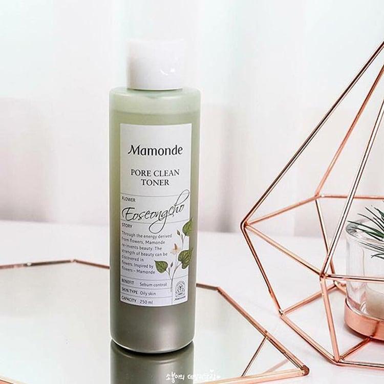 Nước hoa hồng Mamonde Pore Clean Toner- Bici Cosmetics