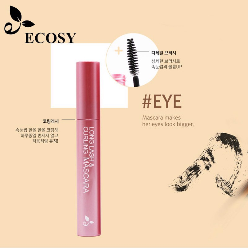 Mascara Ecosy Long Lash & Curling