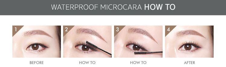 Mascra Innisfree Skinny Waterproof Microcara 8- bici cosmetics