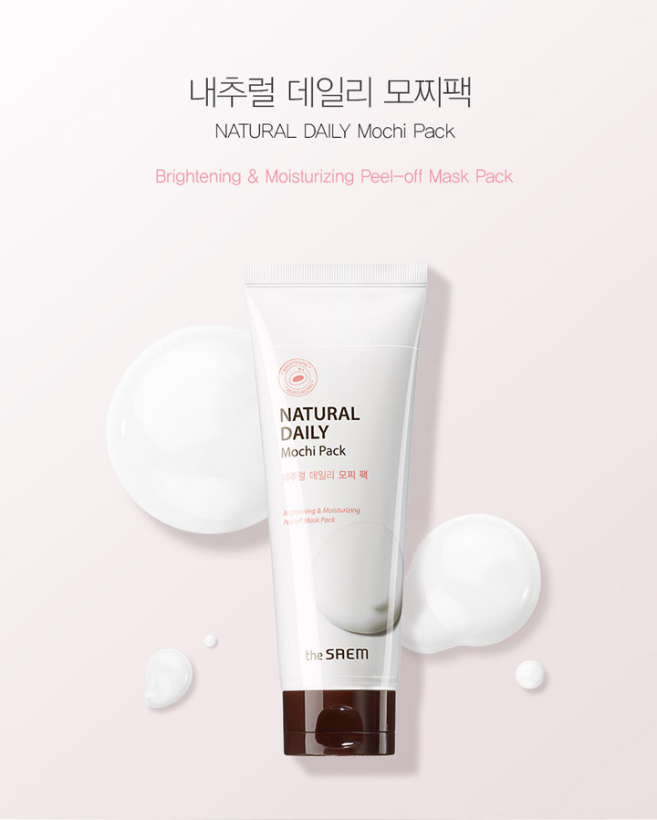 Mặt Nạ Lột Natural Daily Mochi Pack The Saem
