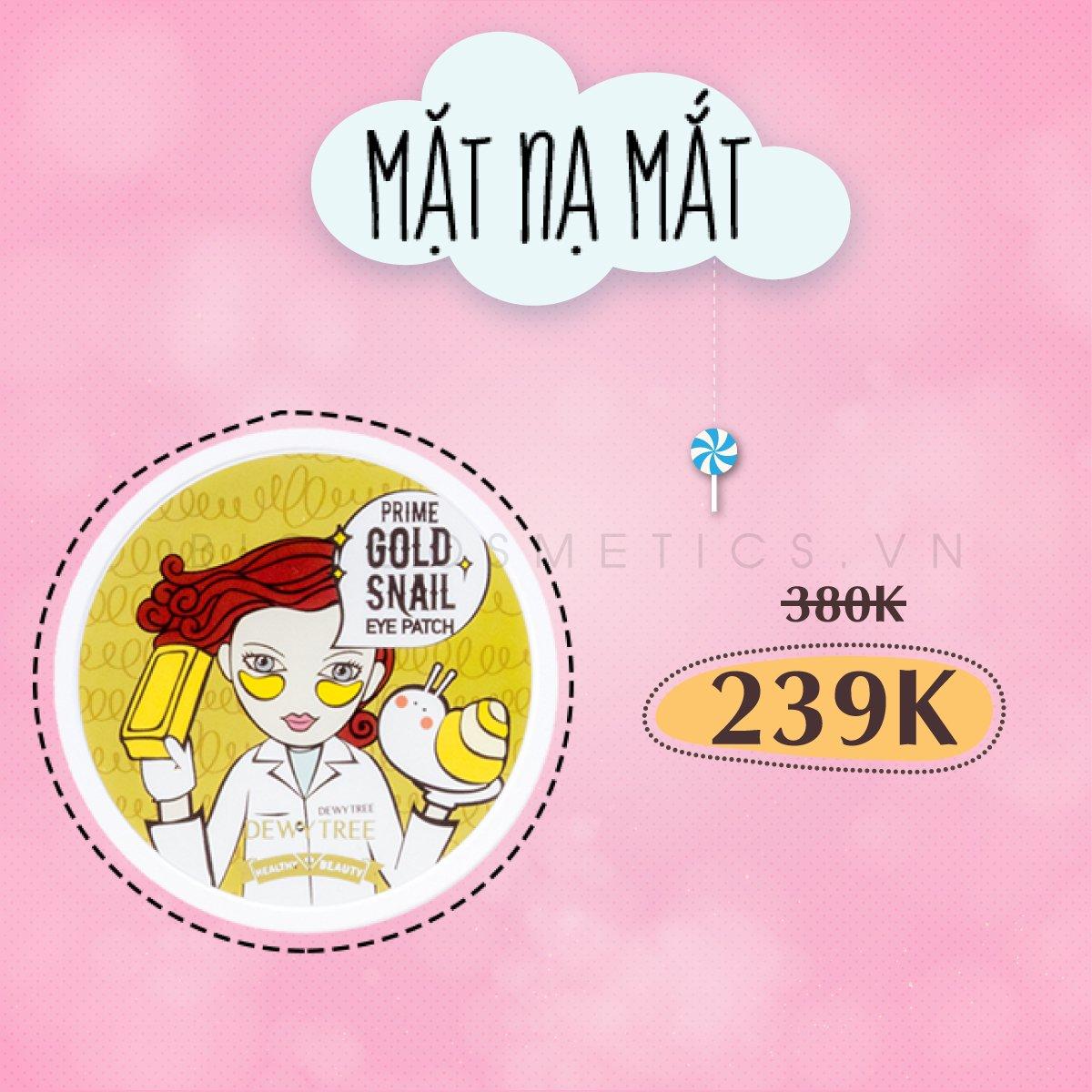 Mặt Nạ Mắt Dewy Tree Hàn Quốc bán tại Bici Cosmetics
