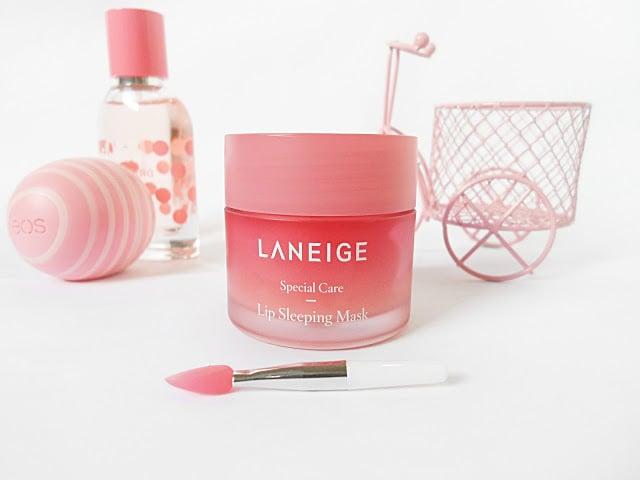 Laneige Lip Sleeping Maskvới chiết xuất từ các loại trái cây tươi giàu vitamin cung cấp độ ẩm cho đôi môi 1
