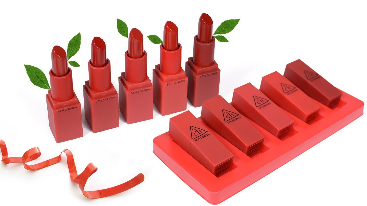 3CE Red Recipe Matte Lip Color 1