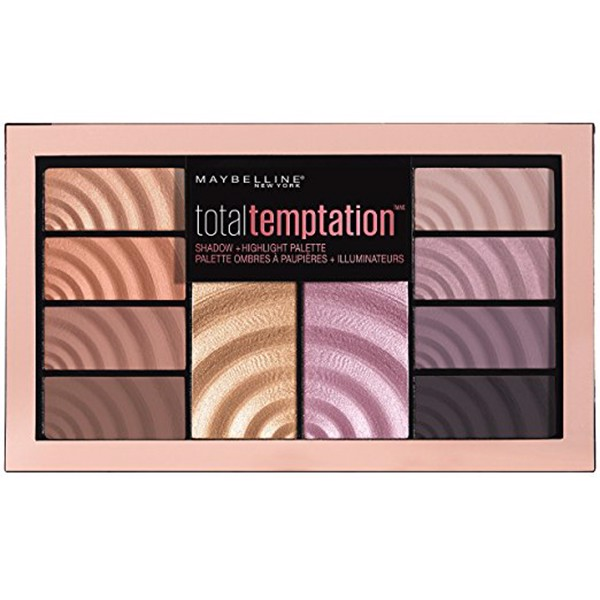 Bảng Màu Mắt Và Highlight Maybelline Total Temptation Eyeshadow & Highlight Palette