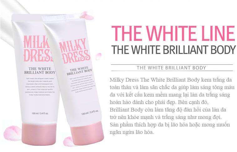 Milky Dress The White Brilliant6 - bici cosmetics