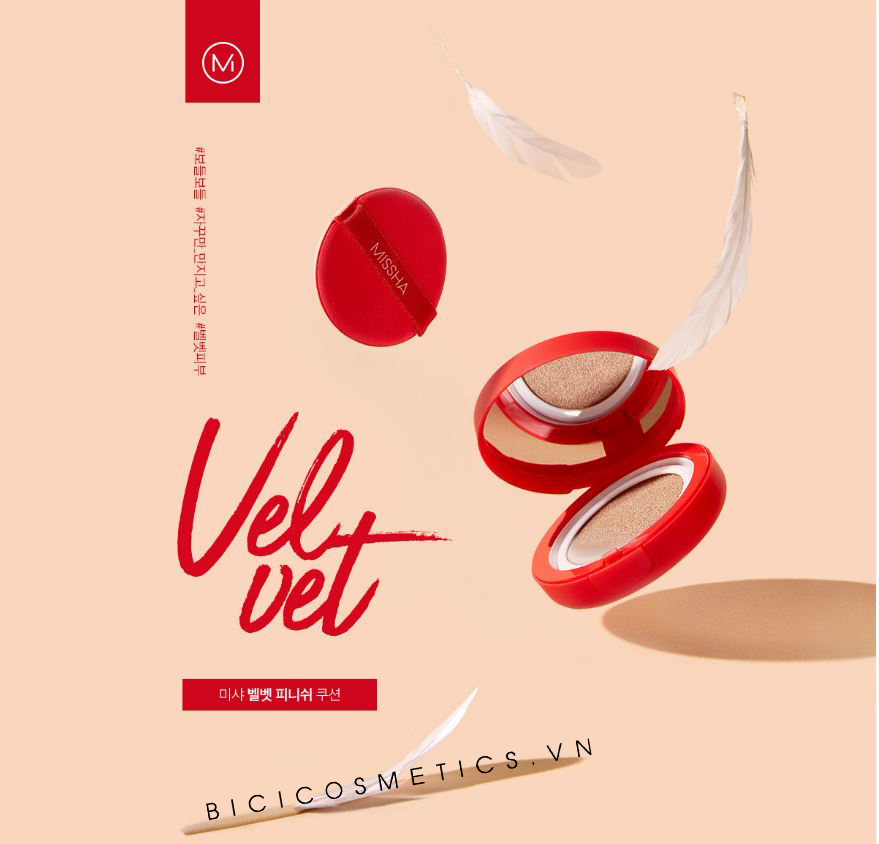 Missha Velvet Finish Cushion - Bici Cosmetics