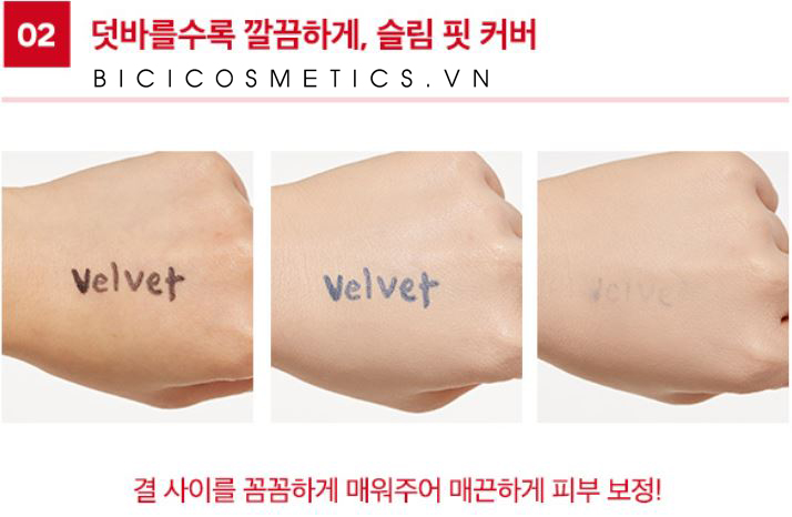 Missha Velvet Finish Cushion2 - Bici Cosmetics