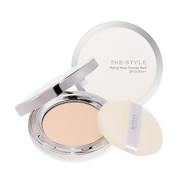 Phấn Phủ Missha The Style Fitting Wear Powder Pact SPF25/PA++ Tone 23