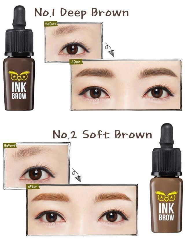 thiết kế mực kẻ mắt Wholly Deep Ink Brow