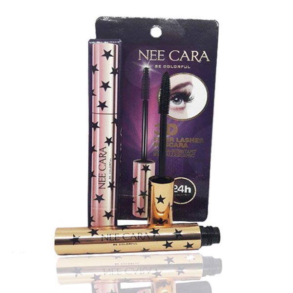 Mascara Nee Cara Colorful 3D Fiber Lashes Mascara N190