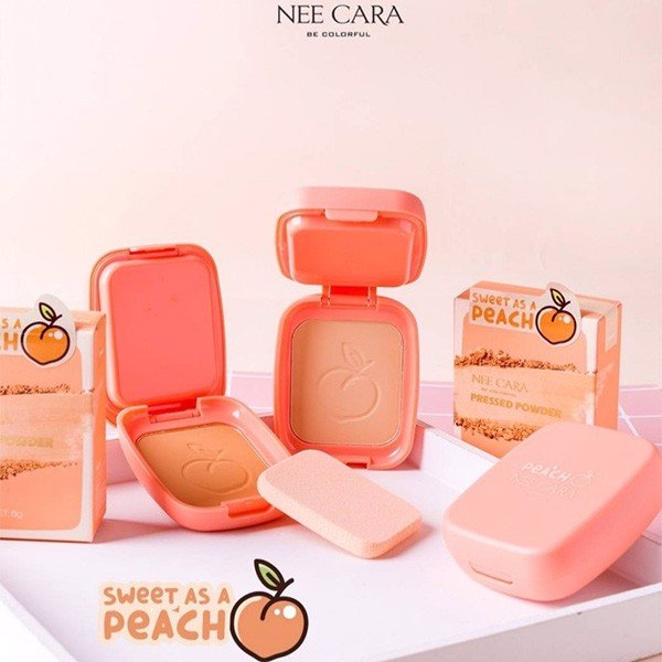 Phấn Phủ Nee Cara Be Colorful Sweet As A Pressed Powder N611