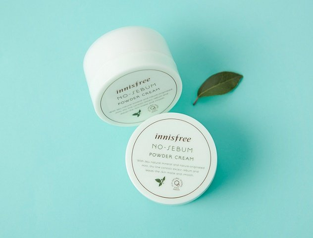 Kem Dưỡng Innisfree No-Sebum Powder Cream 1
