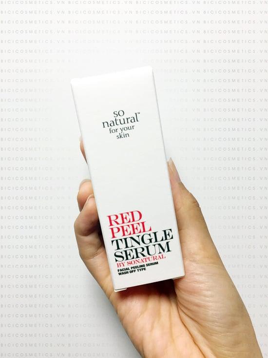 Tinh chất Red Peel Tingle Serum giúp cho việc Peel da từ phức tạp trở nên đơn giản
