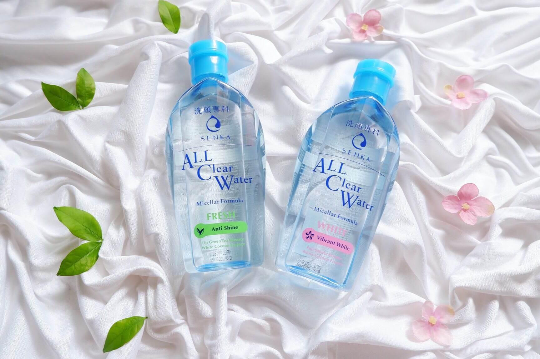 Nước tẩy trang Senka All Clear Water- nước tẩy trang giá rẻ-bicicosmetics.vn