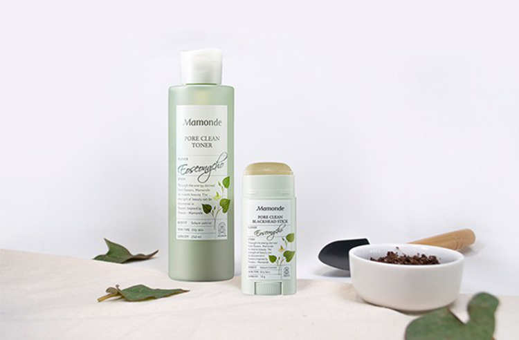 Nước hoa hồng Mamonde Pore Clean Toner kết hợp với thanh lăn mụn để đạt hiệu quả tốt nhất- Bici Cosmetics