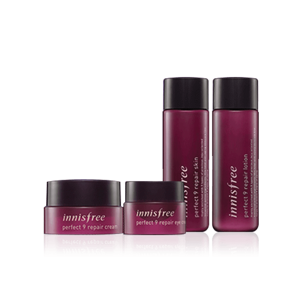 Bộ dưỡng da Mini Innisfree Perfect 9 Repair Special Kit