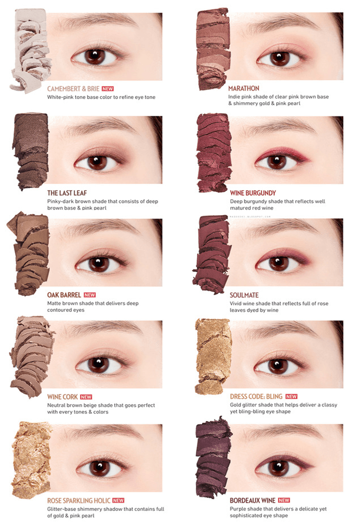 phấn mắt play color eyes Etude House - Wine Party