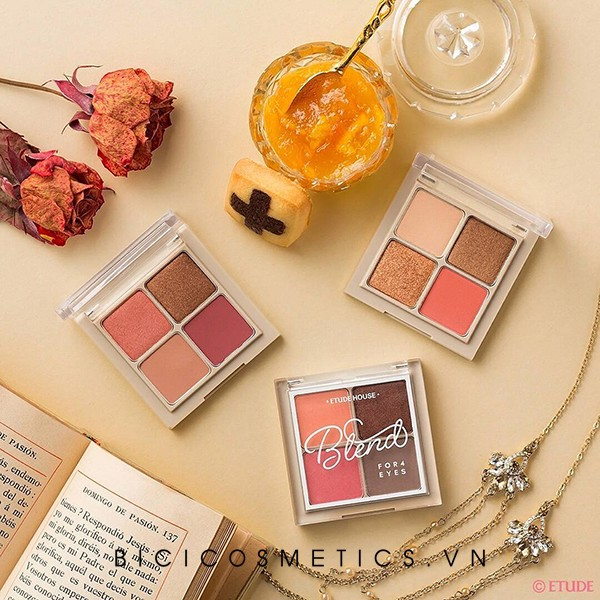 Bảng phấn Mắt Etude House Blend For Eyes 4 ô