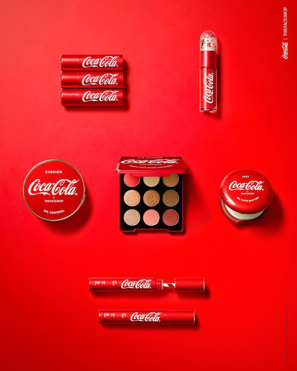 The Face Shop Coca- Cola Velvet Lipstick13 - Bici Cosmetic