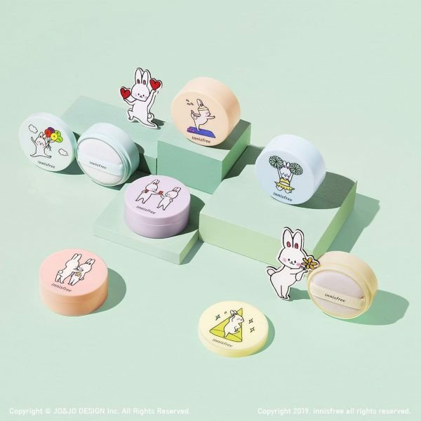 [NEW 2019] Phấn Phủ Kiềm Dầu Innisfree No Sebum Happy Bunny Cheering Edition Mineral Powder