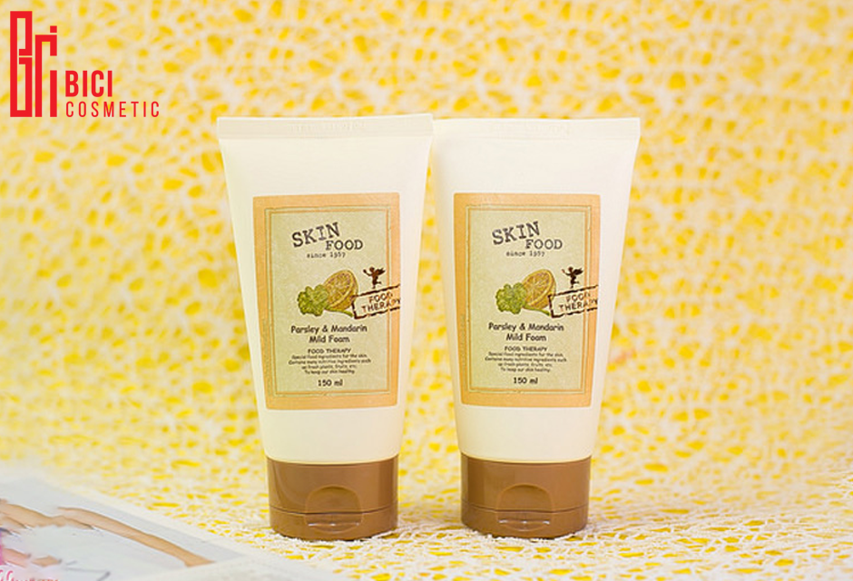 review Sữa rửa mặt Parsley And Mandarin Mild Foam