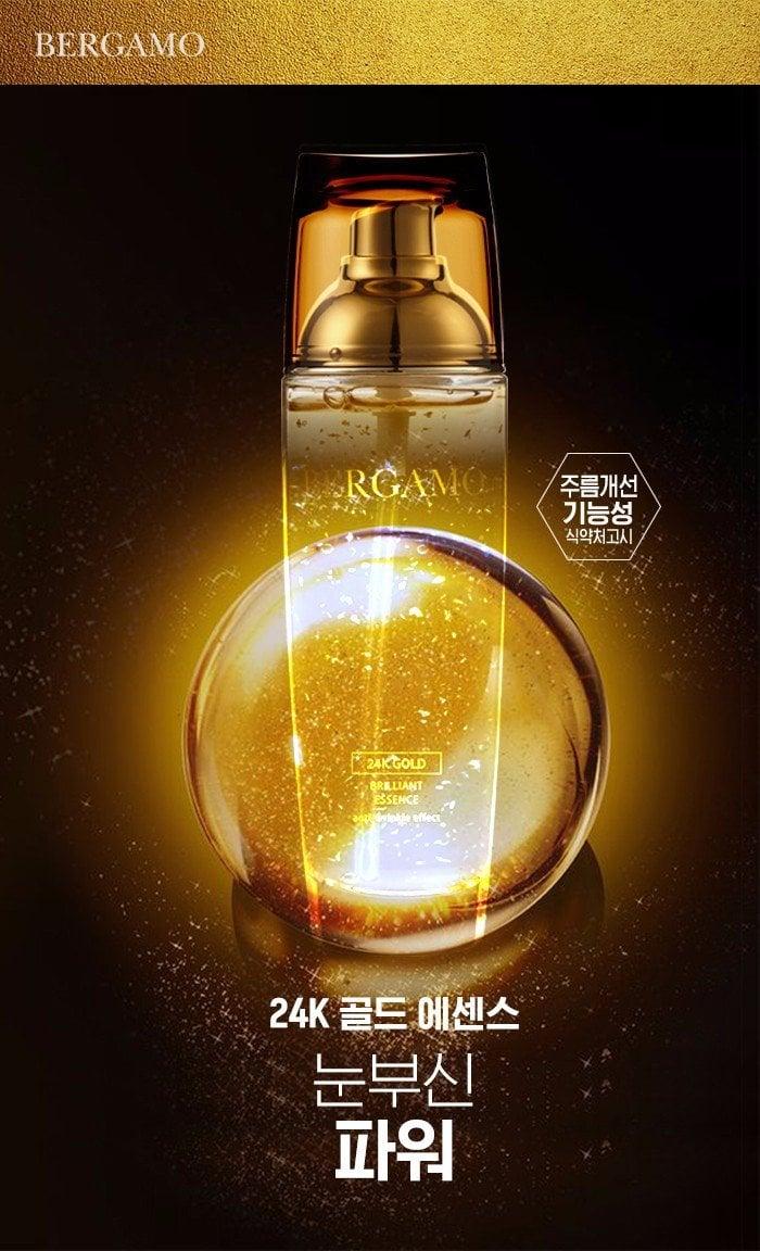 Tinh chất Bergamo 24K Gold Brilliant Essence và White Vita Luminant Essence 1