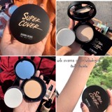 Phấn Phủ Sivanna Colors Super Cover Highest Wear Pact HF201