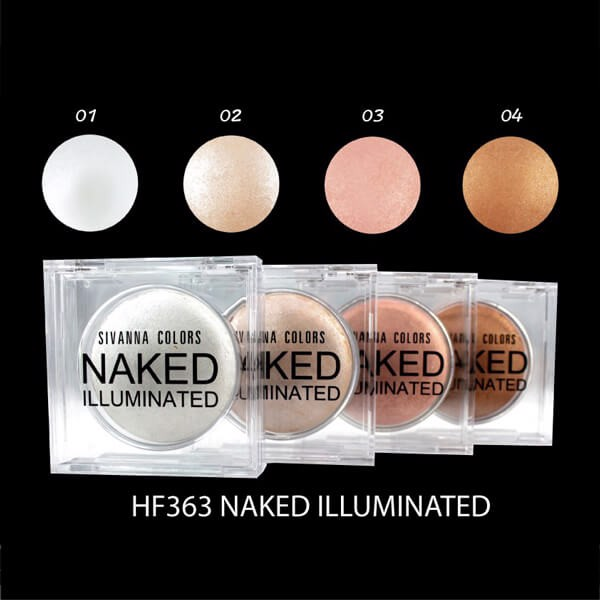 Phấn Bắt Sáng Sivanna Colors Naked Illuminated HF363