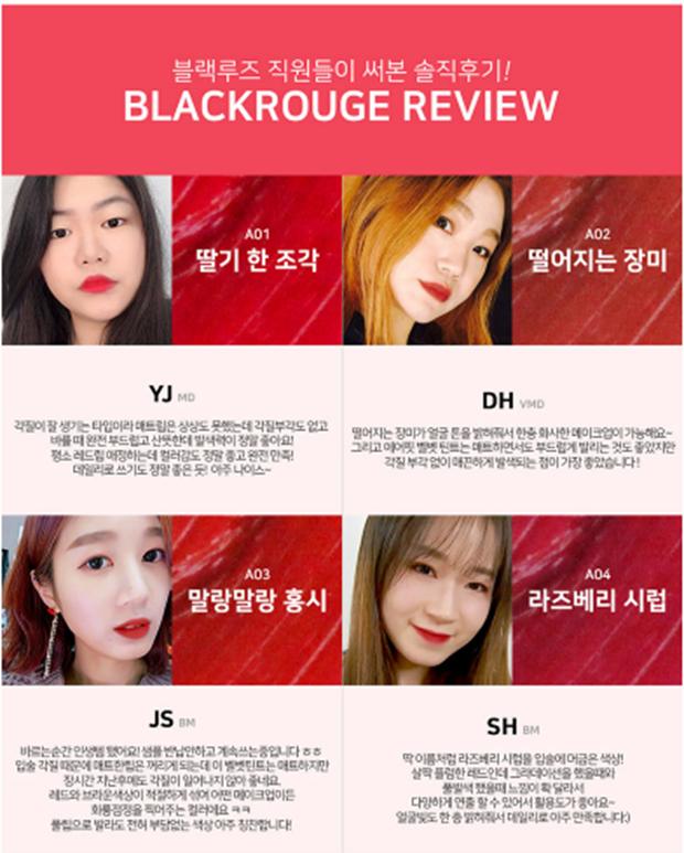 Hãng Mỹ phẩm Black Rouge là 1 thương hiệu mới