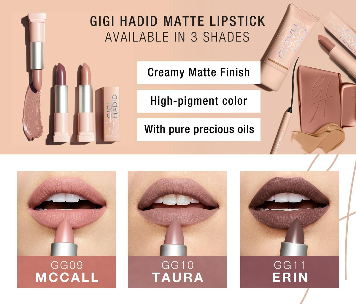 Son MAYBELLINE Gigi Hadid Matte Lipstick 3- Bici Cosmetics