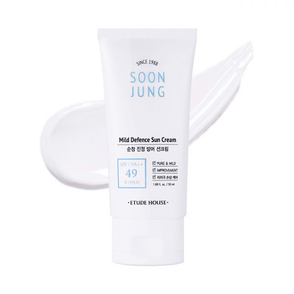 Kem Chống Nắng Soon Jung Mild Defence Sun Cream (50ml)