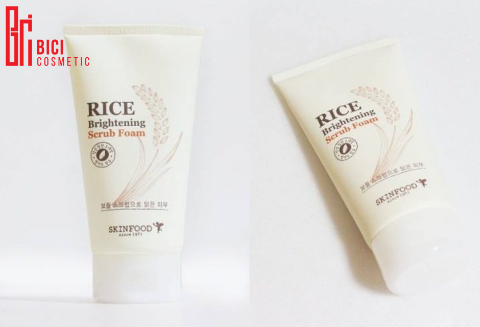 Sữa rửa mặt Rice Brightening Cleansing Foam review