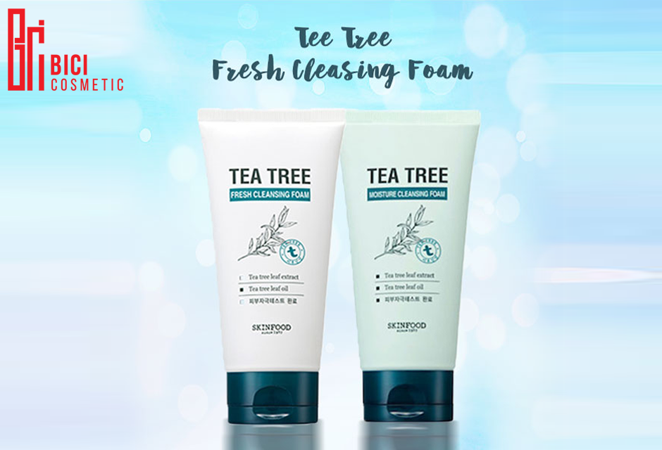 Sữa rửa mặt Skinfood Tea Tree Cleansing Foam