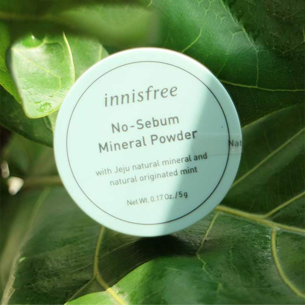 Phấn Phủ Bột Innisfree No-Sebum Mineral Powder