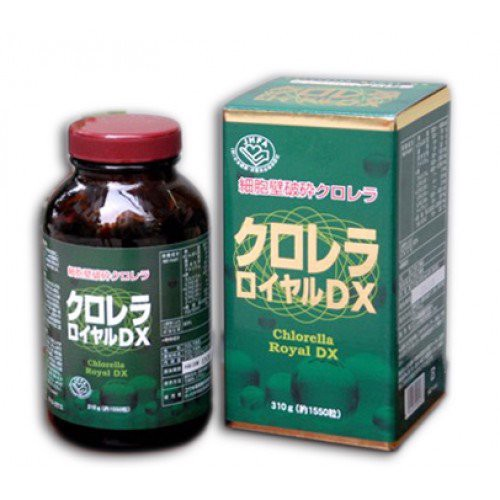 Tảo Xoắn lục Chlorella Royal DX Japan