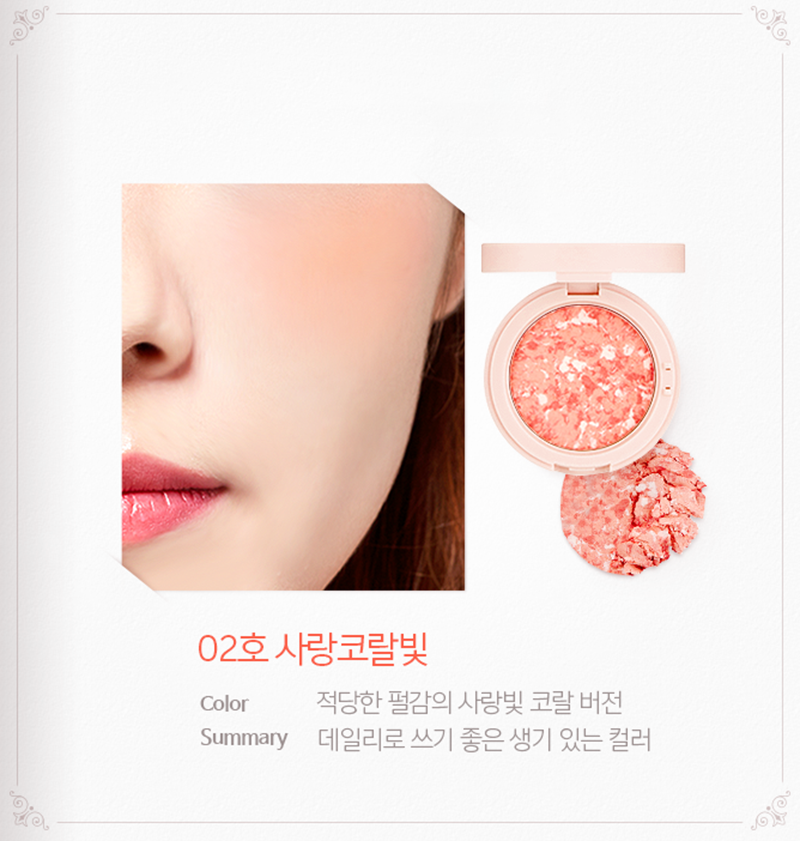 #02 Love Coral light - Bici Cosmetics