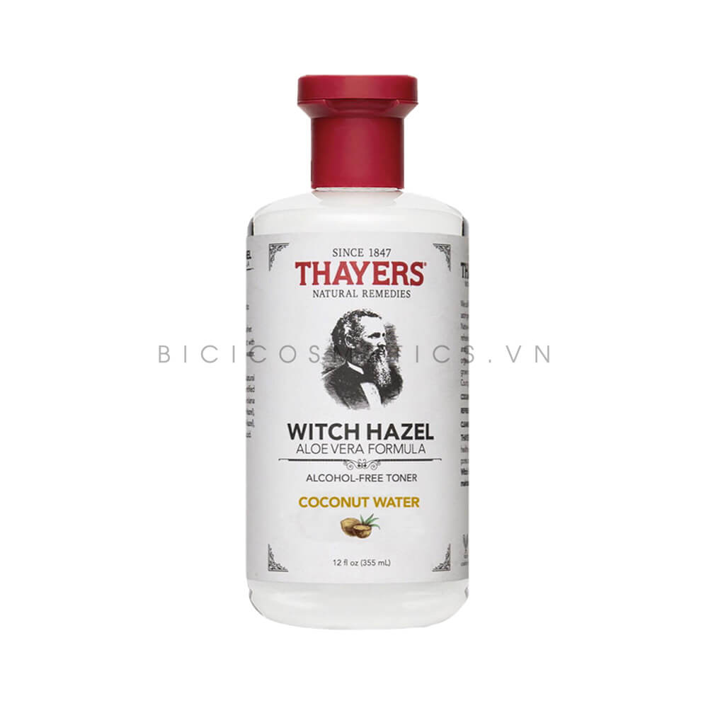 Nước Hoa Hồng Thayers Alcohol – Free Witch Hazel Bicicosmetics.vn