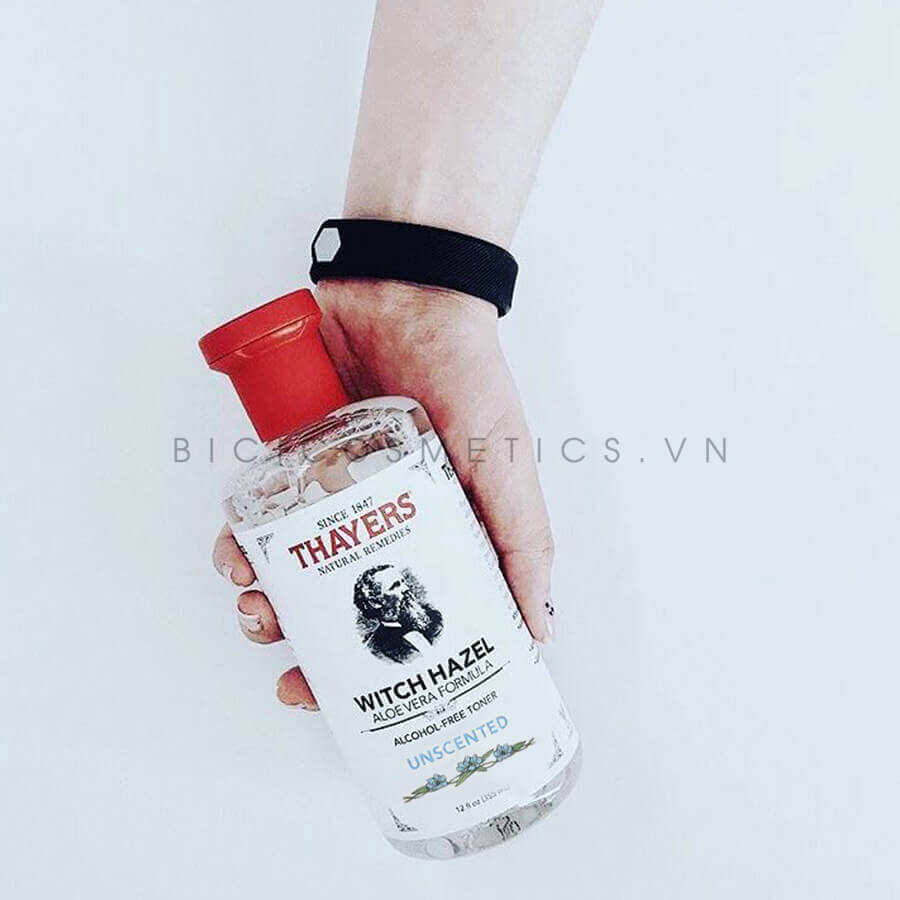 Dung tích 335ml có thể sử dụng lâu dài và tiết kiệm Nước Hoa Hồng Thayers Alcohol – Free Witch Hazel Bicicosmetics.vn