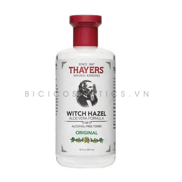Nước Hoa Hồng Thayers Alcohol Origina (Toner Nguyên Bản) – Free Witch Hazel Bicicosmetics.vn