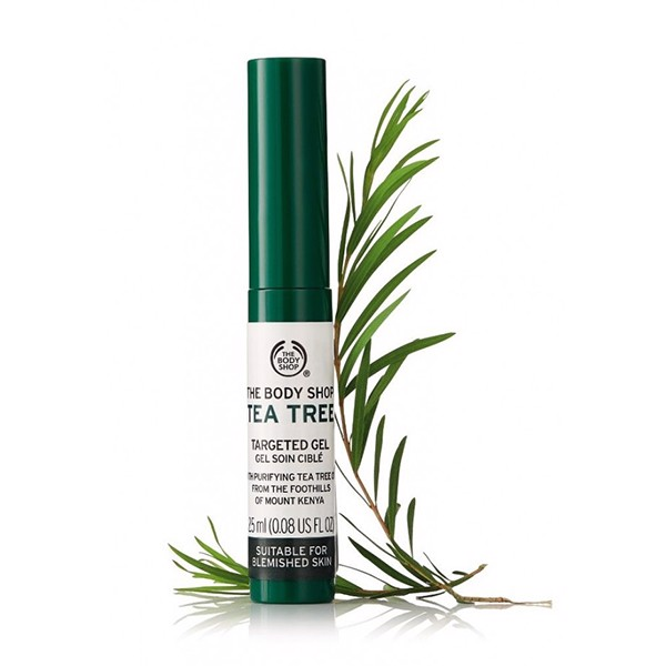 Gel Trị Mụn The Body Shop Tea Tree Targeted Gel (2,5ml)